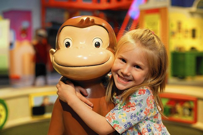 Curious George: Let's Get Curious! - PHOTO: MINNESOTA CHILDREN'S MUSEUM