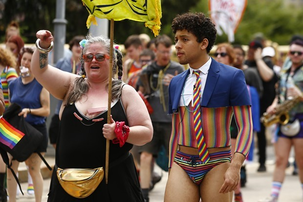 Jaboukie Young-White of The Daily Show visits Pittsburgh Pride - CP PHOTO: JARED WICKERHAM
