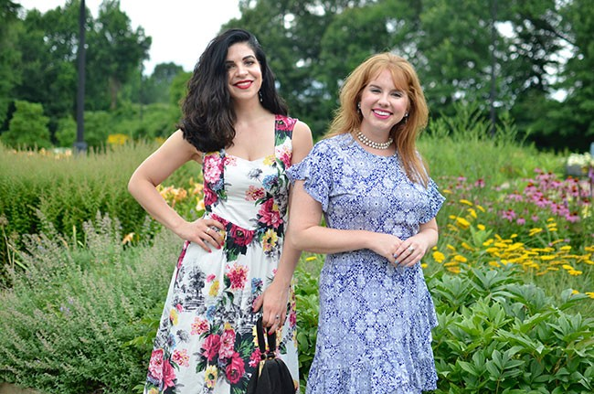 Cap: NatalieBencivenga and Sara Bauknecht - CP PHOTO: TERENEH IDIA