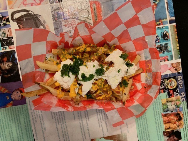 RJ's Loaded Fries - CP PHOTO: MAGGIE WEAVER