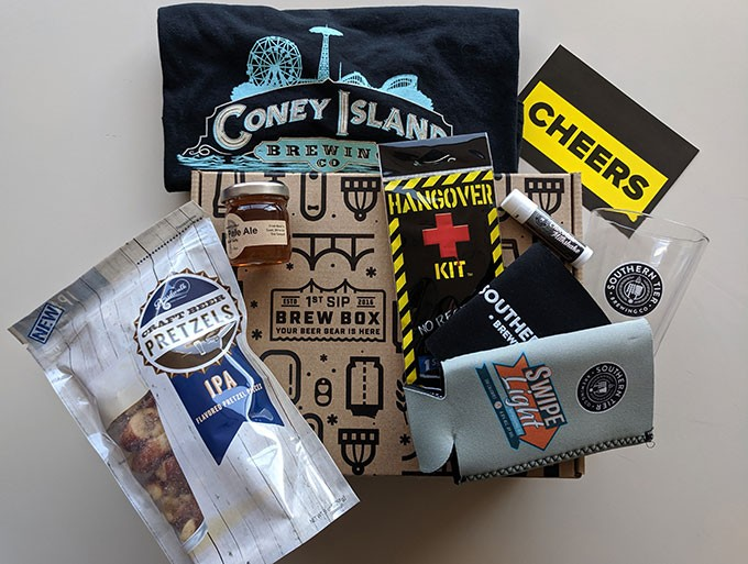 Pittsburgh-based company ships monthly boxes of beer swag to