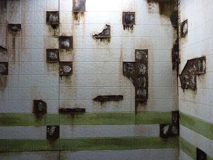 Great job, Tile Remover, whoever you are - CP PHOTO: ALEX GORDON