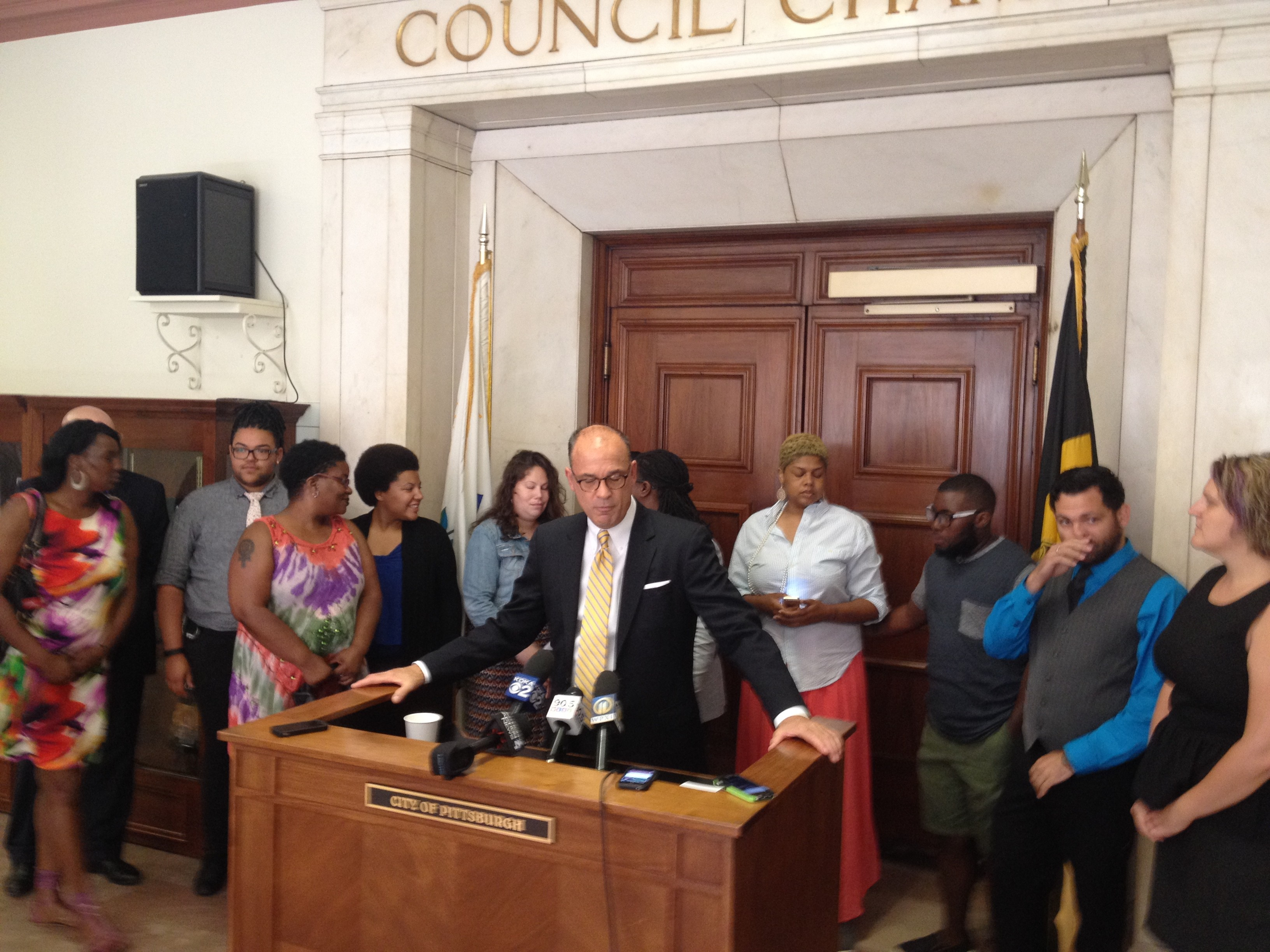pittsburgh city council gay