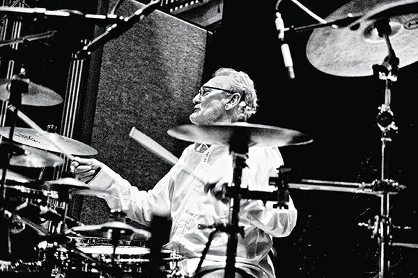 Superstar drummer: Ginger Baker - PHOTO COURTESY OF ALEXIS MARYON