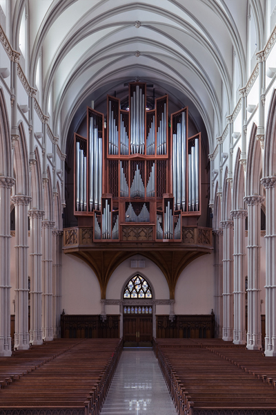 The von Beckerath organ in St. Paul's Cathedral in Pittsburgh's Oakland neighborhood - PHOTO COURTESY OF ST. PAUL'S CATHEDRAL