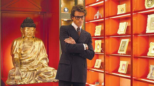 Man of fashion: Yves Saint Laurent (Gaspard Ulliel)