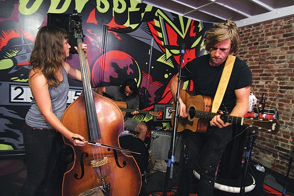 Union Rye performs at Kickback Pinball Café during RANT 2014 - PHOTO COURTESY OF HUGH TWYMAN