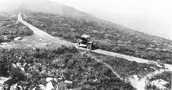 A deforested area Big Pocono, in Monroe County, in 1922 - PHOTO COURTESY OF THE PENNSYLVANIA DEPARTMENT OF CONSERVATION AND NATURAL RESOURCES