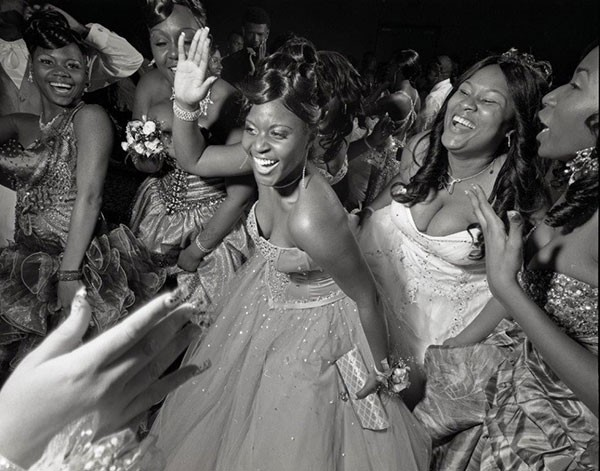 "Dance the night away: ""Woodland Hills High School Prom No. 3,"" by Mark Neville"
