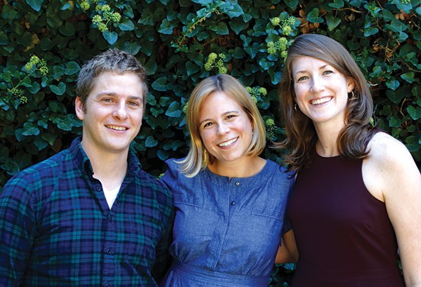 Littsburgh founders Nick Courage, Rachel Ekstrom Courage and Katie Kurtzman