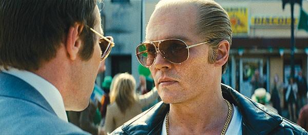 Hometown hardass: Johnny Depp as Boston's Whitey Bulger