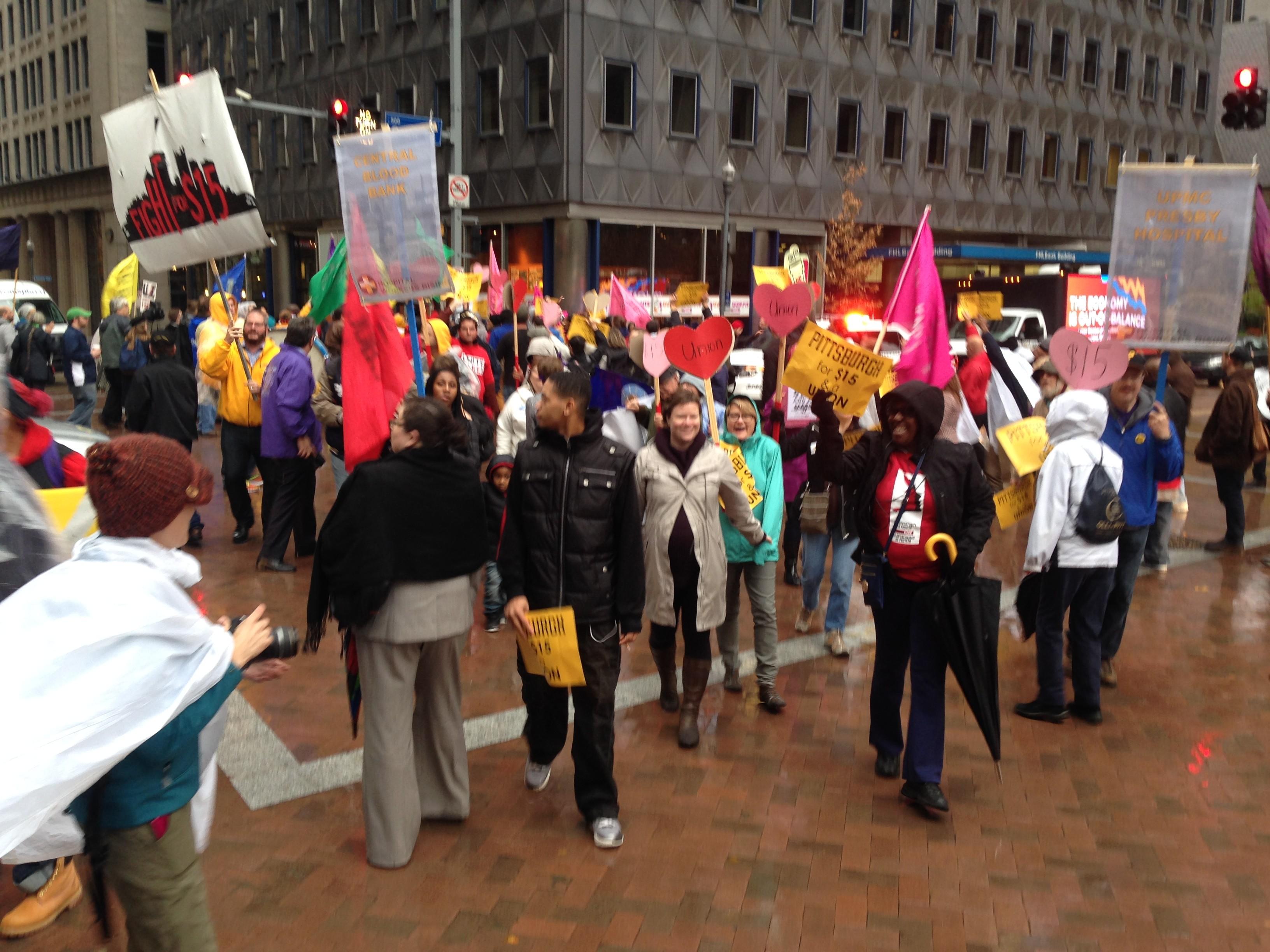 Pittsburgh Fast Food Strike