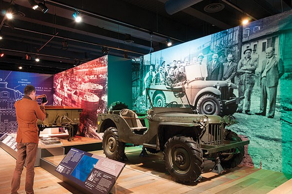 """The oldest known Jeep in existence, known as """"Gramps,"""" is part of We Can Do It! WWII. Jeep is on loan from The Smithsonian. - PHOTO COURTESY OF RACHELLYNN SCHOEN"""