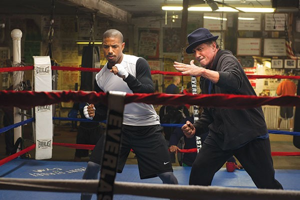 Adonis Creed (Michael B. Jordan) and Rocky Balboa (Sylvester Stallone) are in sync.