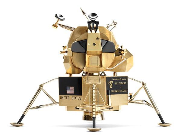 Lunar Excursion Module, Cartier Paris, 1969; - PHOTO COURTESY OF NILS HERMANN, CARTIER COLLECTION © CARTIER