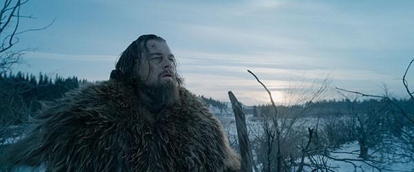 Not dead yet: Leonardo DiCaprio portrays frontiersman Hugh Glass