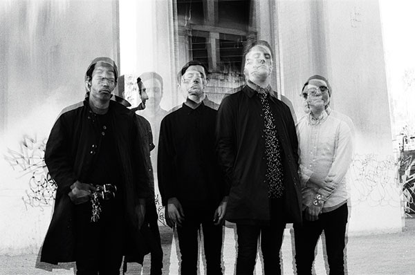 Deafheaven (George Clarke, second from right) - PHOTO COURTESY OF KRISTEN COFFER
