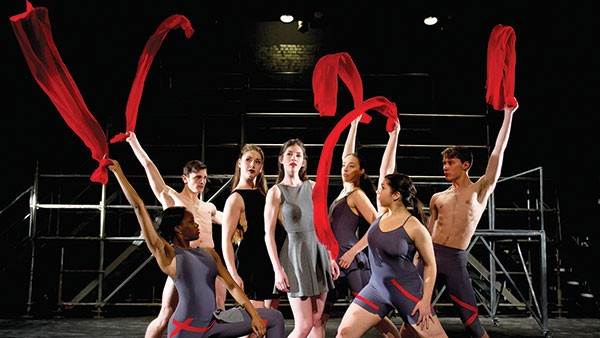 Point Park University Conservatory Dance Company's Five - PHOTO COURTESY OF JEFF SWENSEN