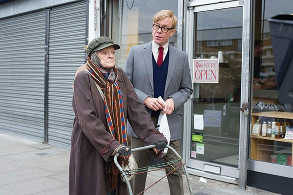 Uneasy riders: Maggie Smith and Alex Jennings