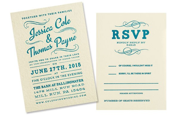 INVITATIONS BY SAPLING PRESS