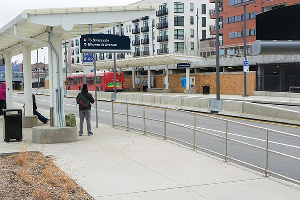 The new East Liberty Transit Center