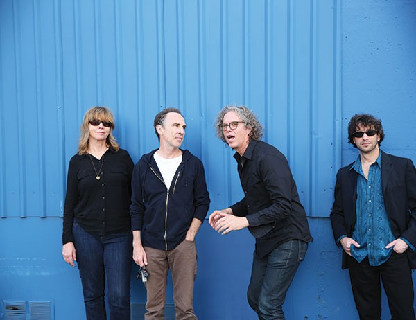 The Jayhawks (Gary Louris, second from right)