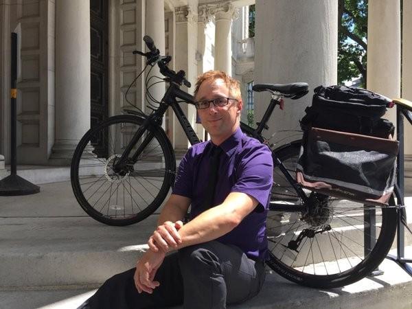 PennDOT Bike/Pedestrian Coordinator Roy Gothie - PHOTO COURTESY PENNDOT