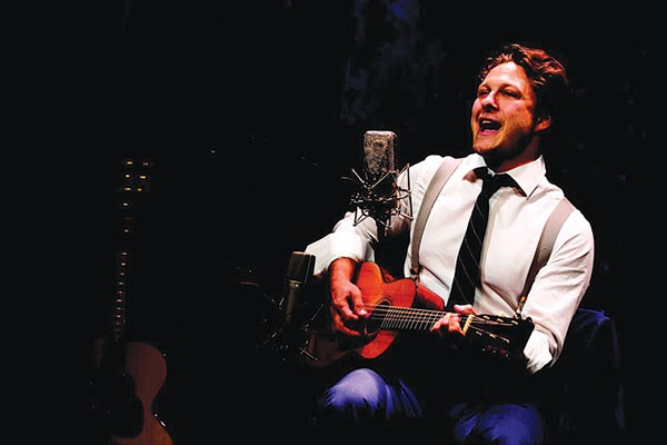 Benjamin Scheuer in The Lion, at City Theatre through June 5 - PHOTO COURTESY OF MATTHEW MURPHY