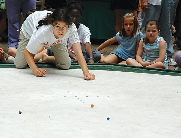 Allegheny County Marbles Tournament, June 2-4 - PHOTO COURTESY OF ALLEGHENY COUNTY