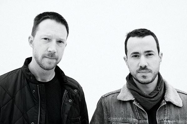 Zombi: Steve Moore (left) and Anthony Paterra