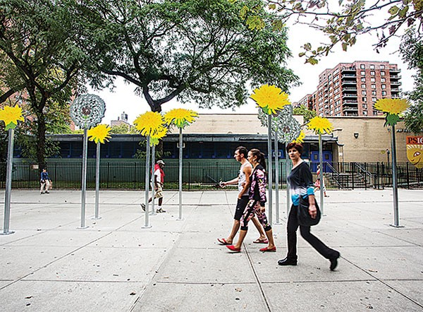 "Carrie Mincemoyer's ""The Dandelions,"" in New York City"