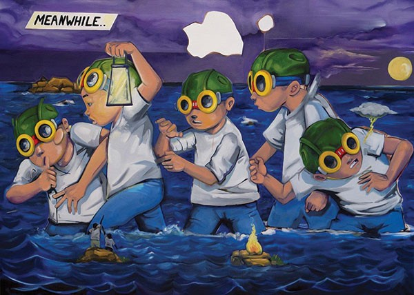 "Hebru Brantley's ""Midnight Marauders"""