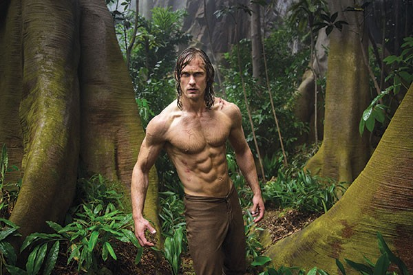 Come at me, bro: Alexander Skarsgard