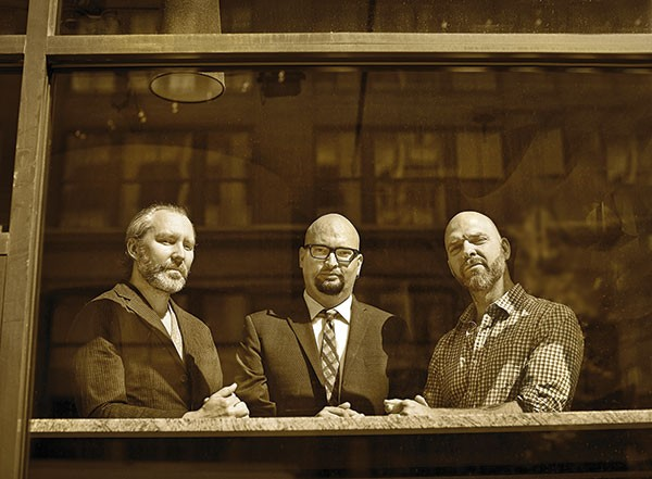 The Bad Plus (Dave King, right)