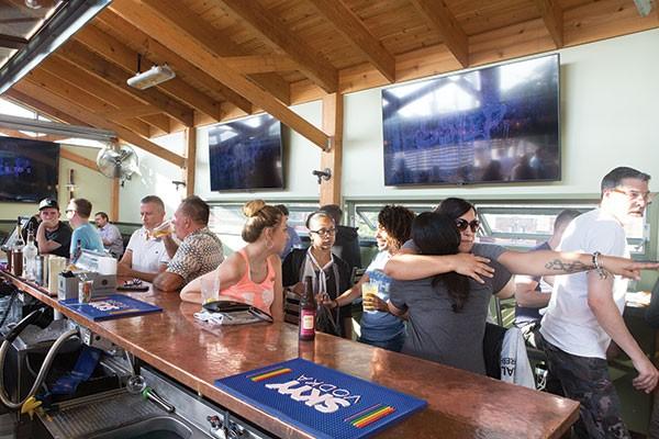 5801 Video & Lounge - PHOTO BY JOHN COLOMBO
