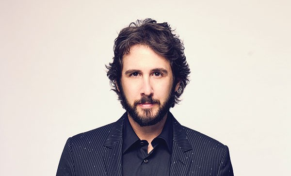 """Music absolutely saved me"": Josh Groban"