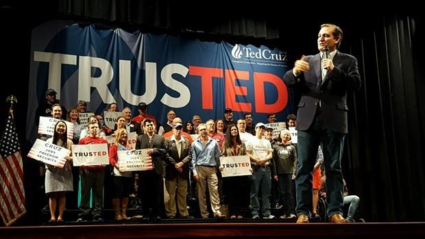Ted Cruz - PHOTO BY REBECCA ADDISON