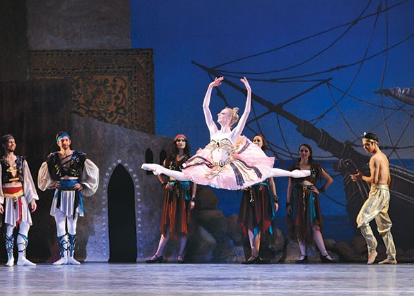 Hannah Carter in Pittsburgh Ballet Theatre's Le Corsaire
