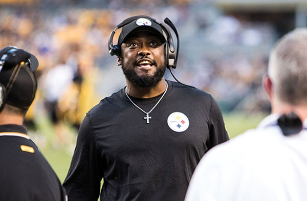 Steelers coach Mike Tomlin