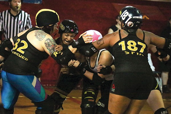 The Steel City Roller Derby faced Toronto in their last game of the travel season on Aug. 20.