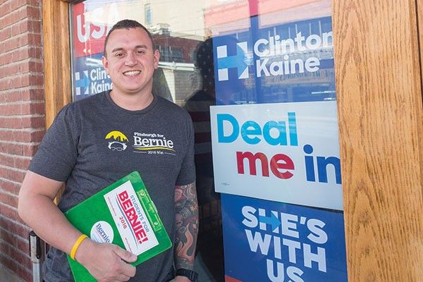 "Alex Austin is just one volunteer who has answered Bernie Sanders' call for a ""political revolution"""
