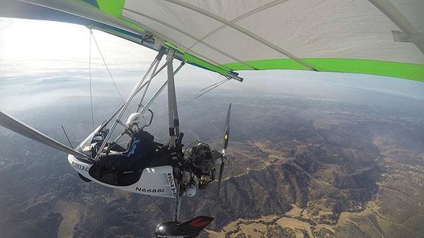 Flying high: David Grabowski
