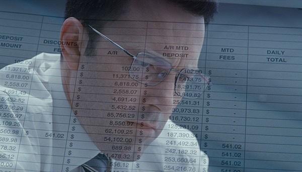 A head for figures: Ben Affleck