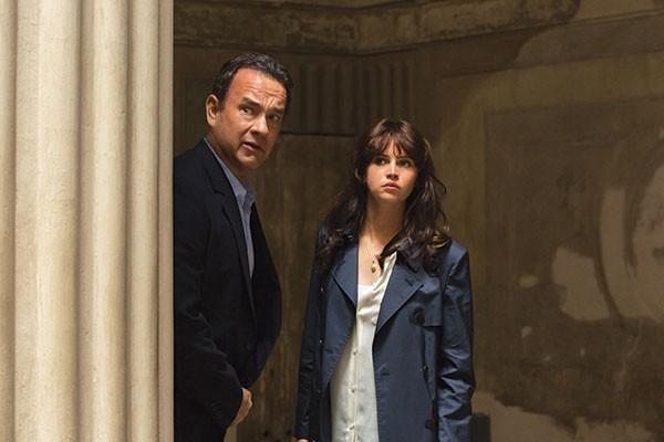 Abandon hope all ye who enter here: Tom Hanks and Felicity Jones
