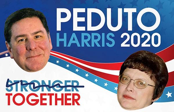 Bill Peduto and Darlene Harris