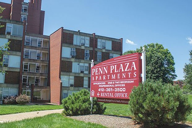 Penn Plaza Apartments in East Liberty, 2015 - CP FILE PHOTO
