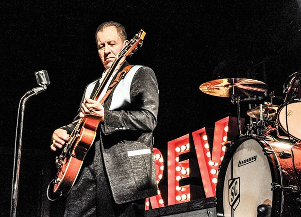 Holy roller: The Reverend Horton Heat