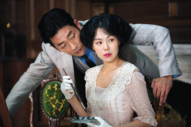 Jung-woo Ha and Min-hee Kim