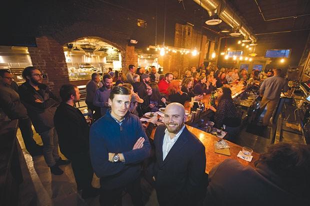 Tyler Benson (left) and Ben Mantica - PHOTO COURTESY OF JEFF SWENSEN