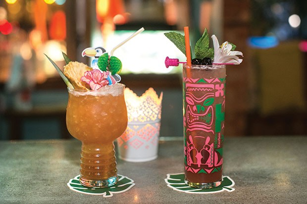 Tiki drinks at Hidden Harbor: Toucan Tango and the Zombie - CP PHOTO BY JOHN COLOMBO